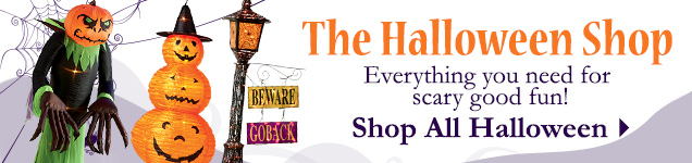 Shop all Halloween items for scary good fun!