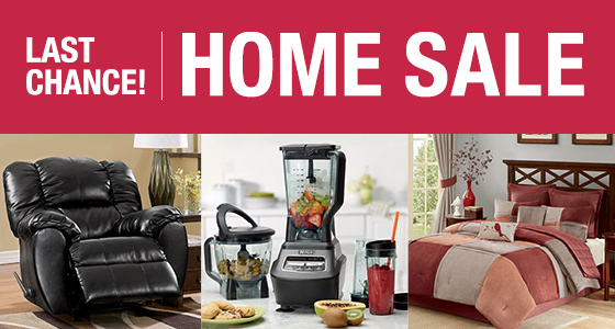 Last Chance! Save 10% on select Home categories - Promo code HOMESALE16 - Shop Now!