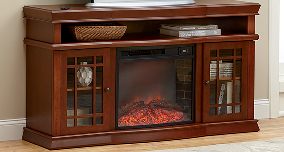 Warm as toast. Order Heaters and Fireplaces before temps really drop!