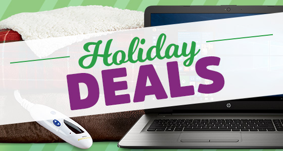 Hundreds of Holiday Deals!