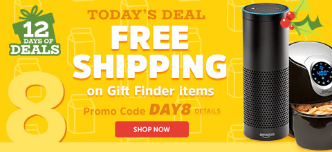 todayu0027s deal free shipping on gift finder items enter promo code day8 at checkout