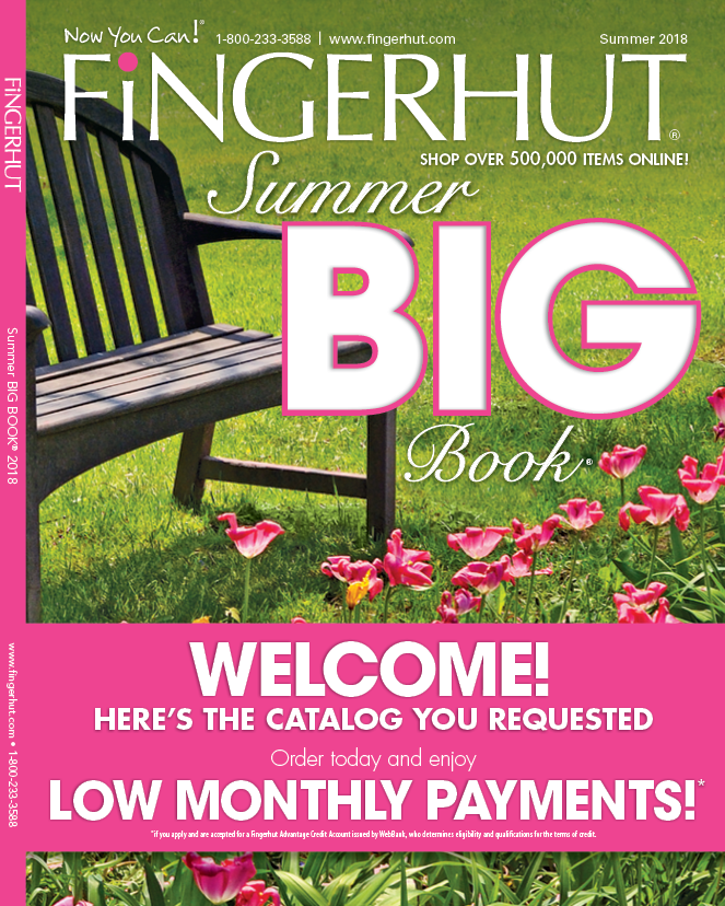 Fingerhut has you covered for your kitchen, living room, bed or bath needs. Convenient credit options are available and monthly payments are easy at Fingerhut. Find the best deals and latest savings online with coupon codes for Fingerhut.