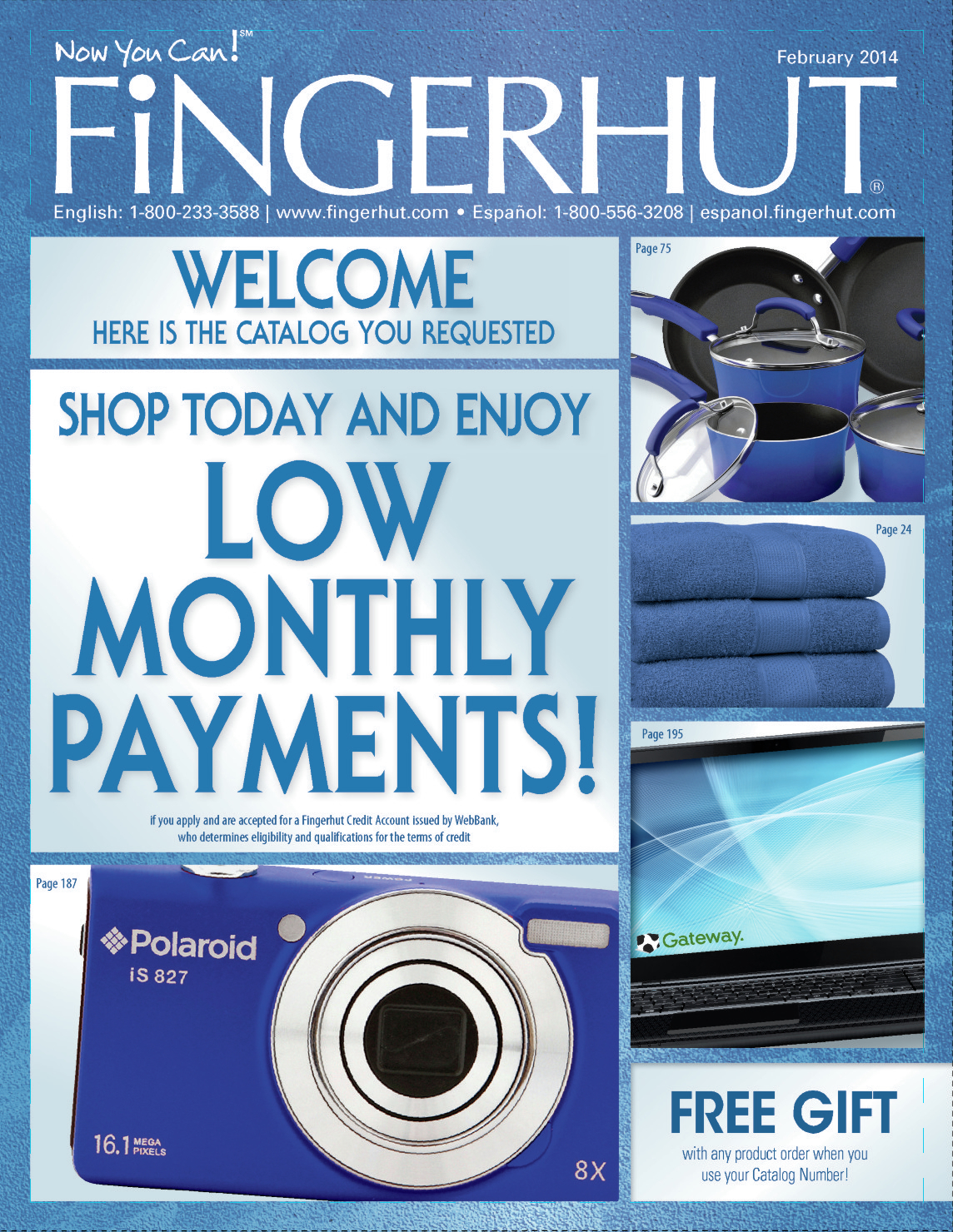Fingerhut and other catalogs