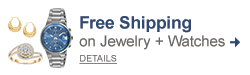 Free shipping on Jewelry + Watches.