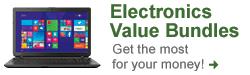 Electronics Value Bundles - Get the most for your money! Shop Now
