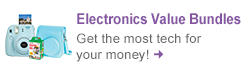 Shop Electronics Value Bundles and get more tech for your money!