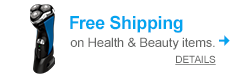 Free shipping on Health & Beauty items with promo code PAMPERMOM!