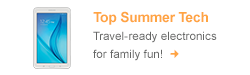 Travel ready electronics for family fun! Shop now!